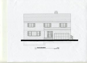 existing front elevation