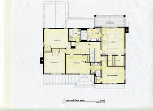 second floor plan addition alteration