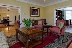 Shingle style home in Westchester County NY interior