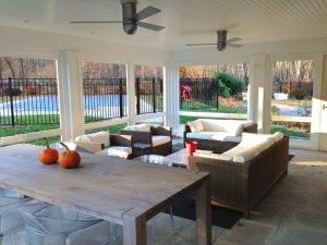 South Salem NY home addition by DeMotte Architects