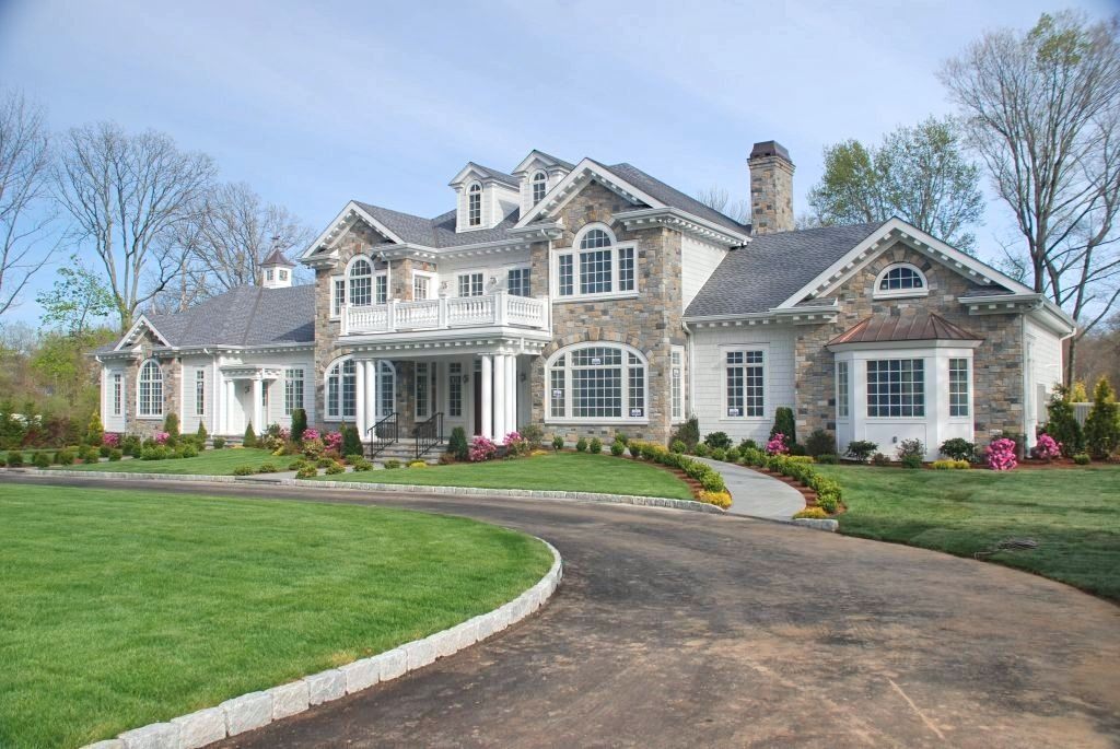 Unique home design in Greenwich CT by DeMotte Architects