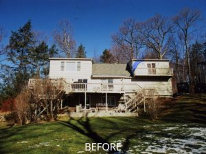 before remodel addition