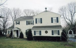 rye ny home before addition