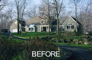home before addition alteration in Rye NY