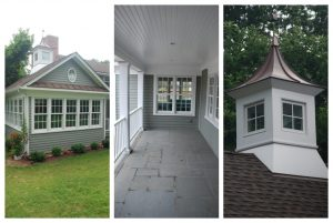 home remodel details in Darien