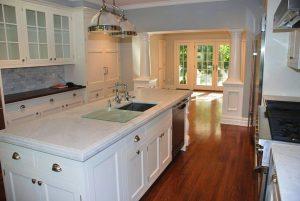 kitchen after Rye NY addition by DeMotte Architects