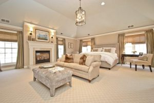 master bedroom in rye ny home