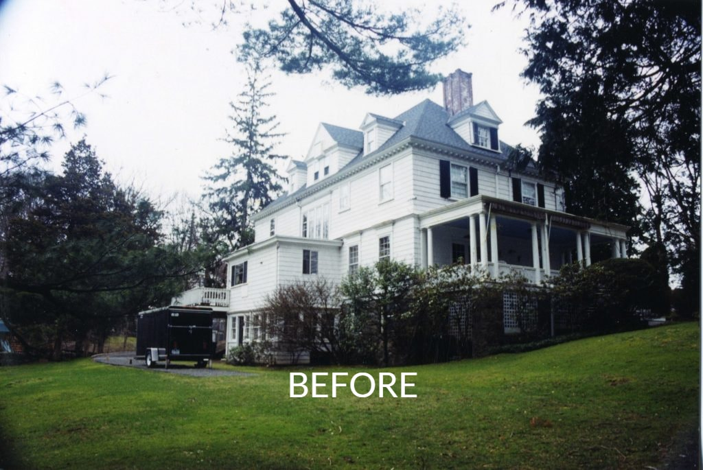 1800s home before addition