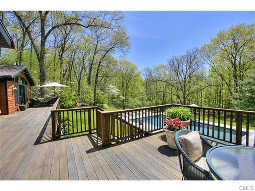 weston ct home deck