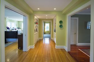rye ny colonial addition hallway