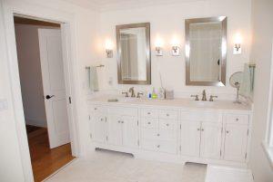 Bathroom in Washington CT home remodel addition