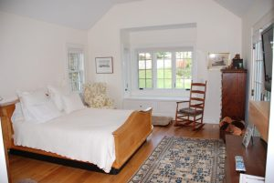 Bedroom in Washington CT cape home addition