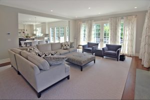 colonial home living room scarsdale ny