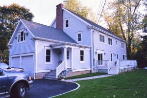 Cape converted to Colonial rear shown in NY