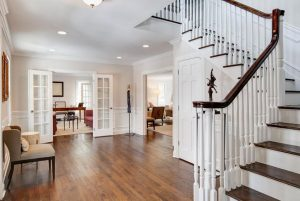 Cape to Colonial home conversion in Rye NY