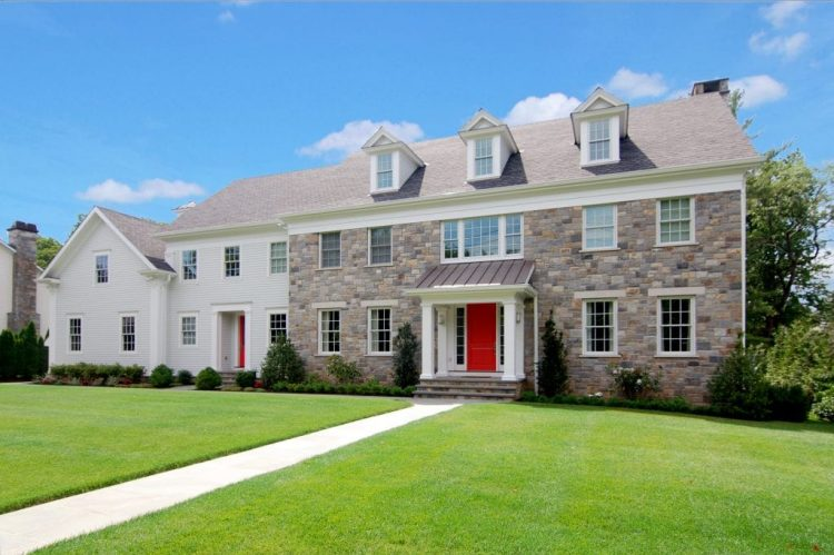 Custom Colonial in Scarsdale NY by DeMotte Architects
