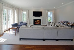Custom colonial interior in Westchester County NY
