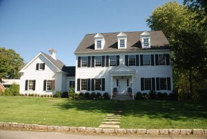 colonial home design in scarsdale ny by demotte architects