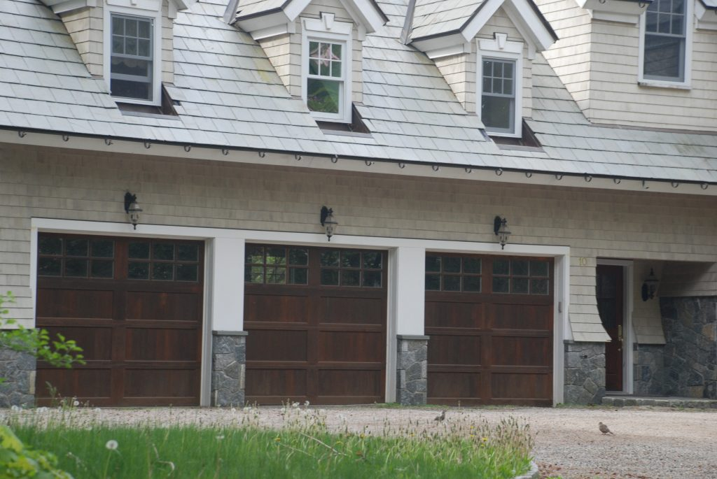 shingle style garage in greenwich ct