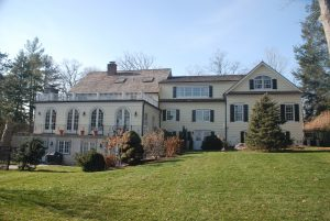 rear of greenwich ct home