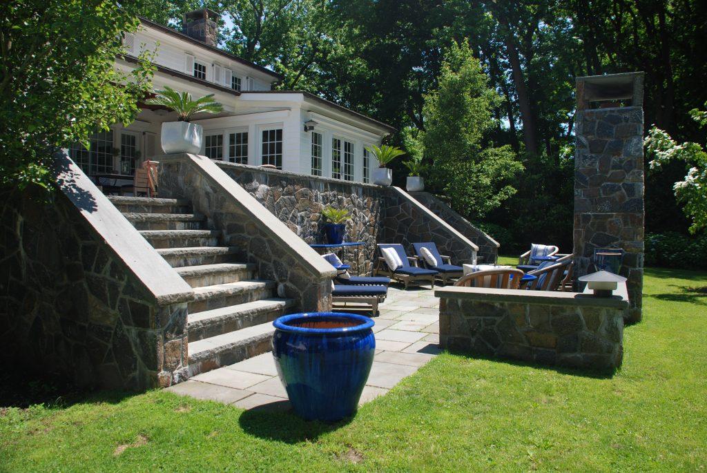rye ny colonial backyard