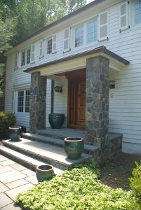 colonial remodel in rye ny