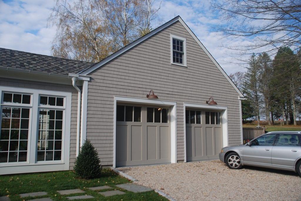 Garage in Washington CT addition remodel by DeMotte Architects