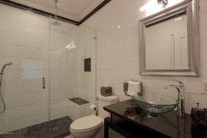Greenwich CT bathroom with shower design