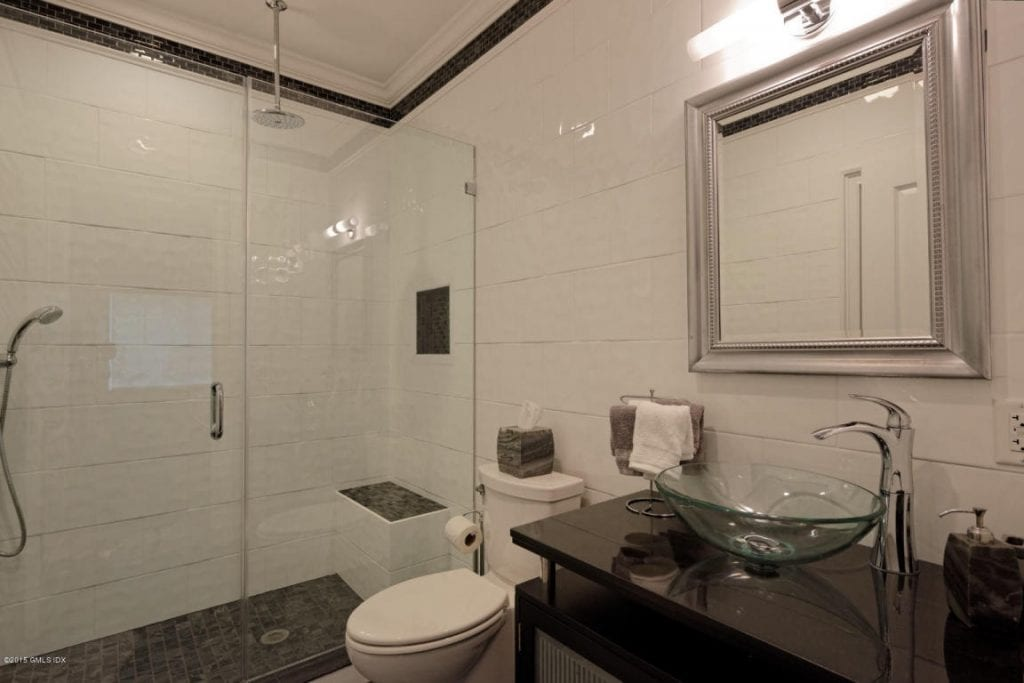 Greenwich CT bathroom with shower design