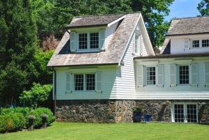 Home addition with garage by DeMotte Architects in Rye NY