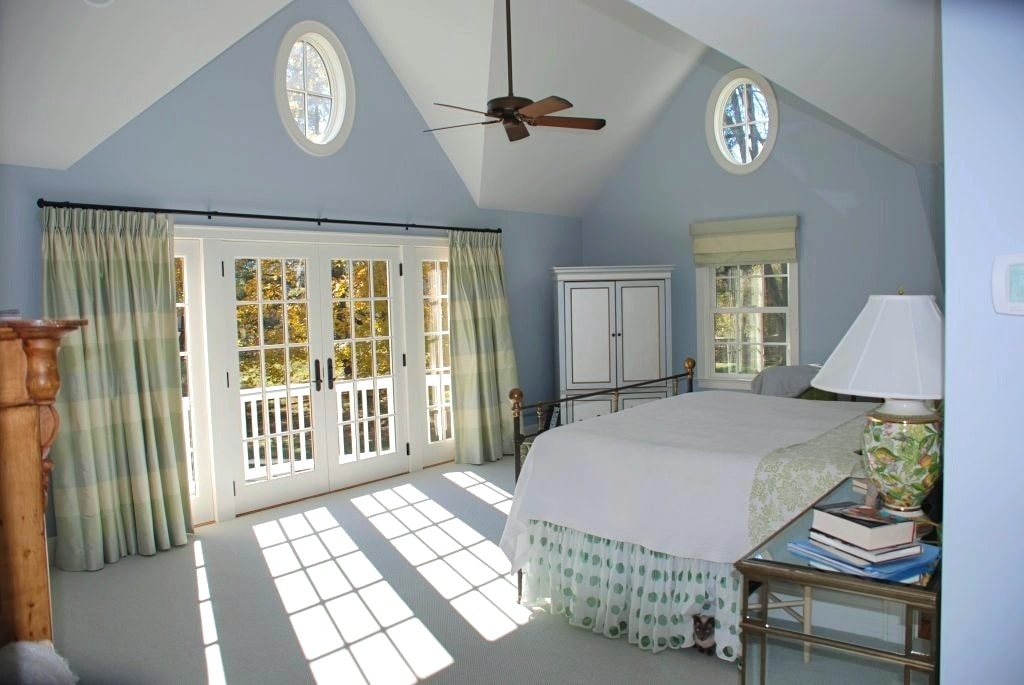Katonah NY bedroom after remodel by DeMotte Architects