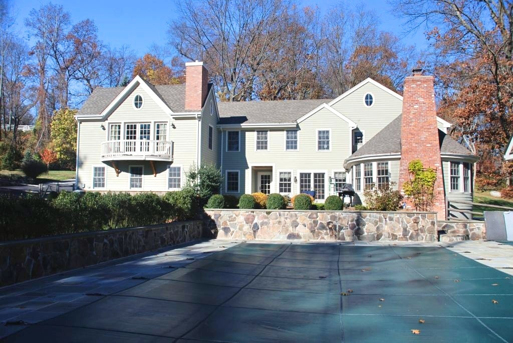 Katonah NY home after addition alteration by DeMotte Architects