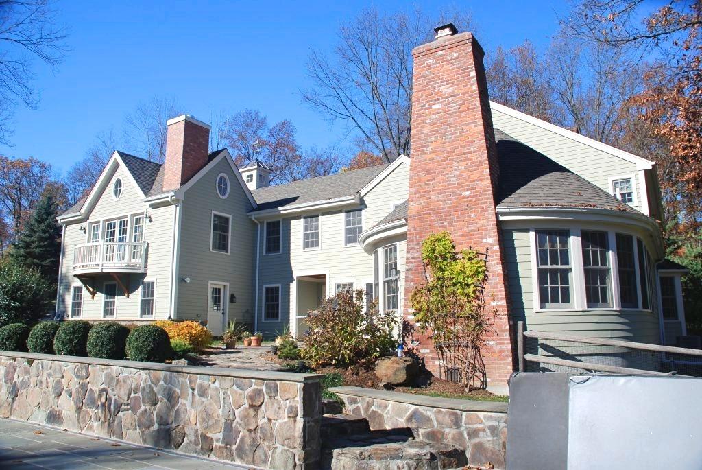 Katonah NY home rear shown after remodel