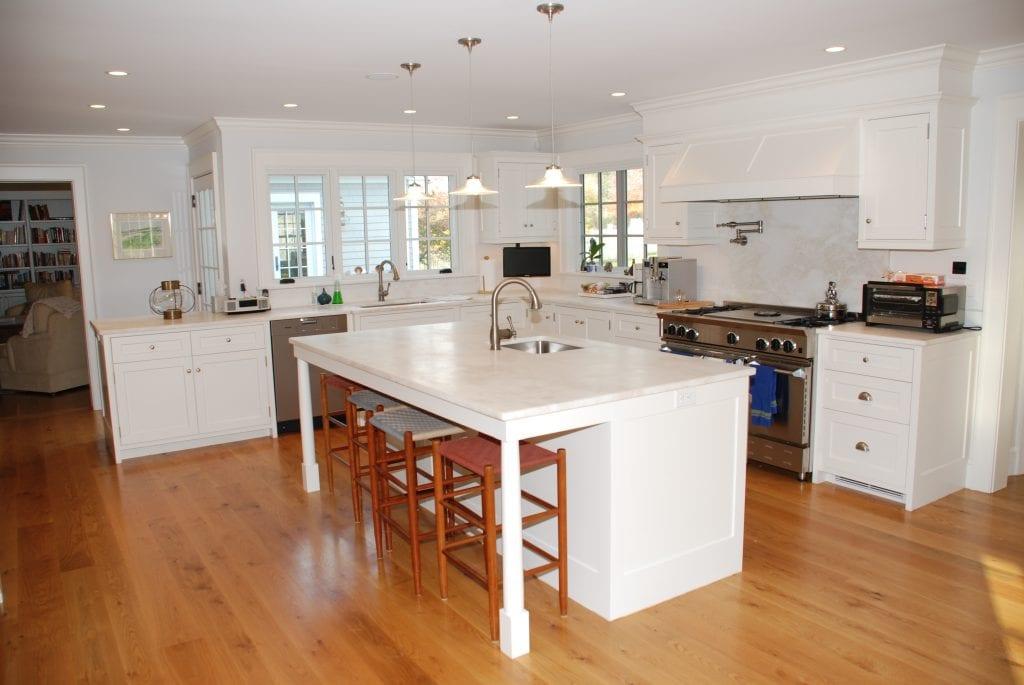 Kitchen in Washington CT home remodel addition