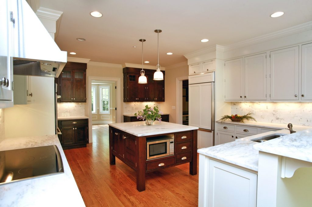 kitchen of scarsdale ny home