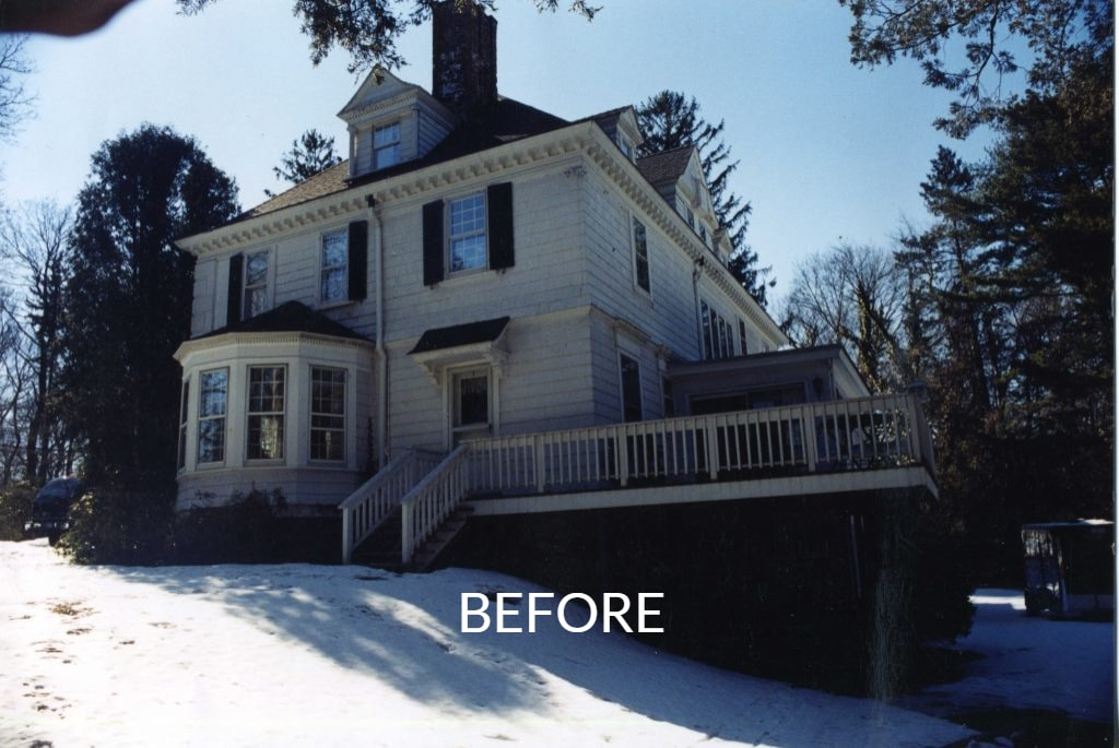 NY 1800s home before addition