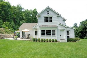 Ridgefield CT home addition by DeMotte Architects