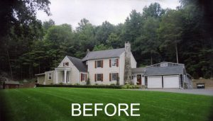 Ridgefield home before remodel