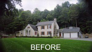Ridgefield home before remodel