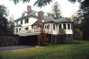 Rye NY 1800s Colonial home addition by DeMotte Architects