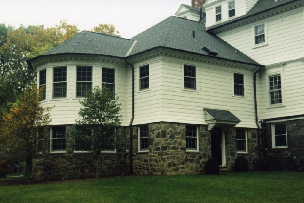 Rye NY home addition of 1800s home