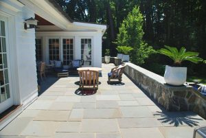 Rye NY home design with terrace