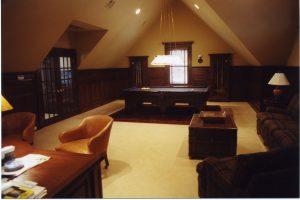 pound ridge ny home game room