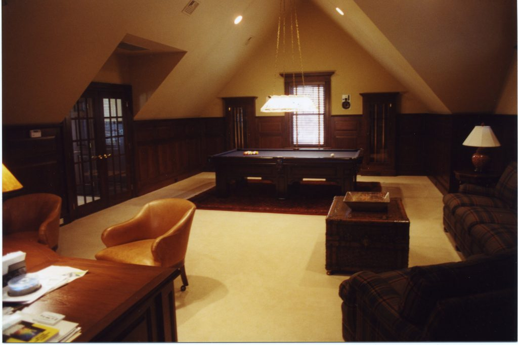 pound ridge ny home game room
