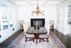 pound ridge ny home dining room by demotte architects