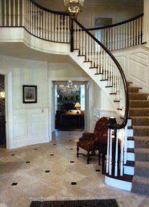 pound ridge ny home foyer by demotte architects