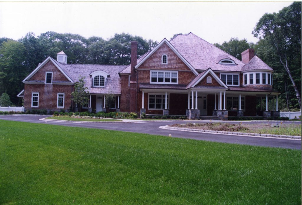 pound ridge ny shingle style house exterior