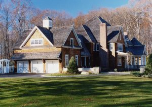shingle style home in pound ridge ny by demotte architects