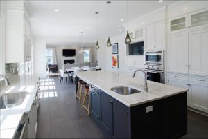 Scarsdale NY custom colonial kitchen design