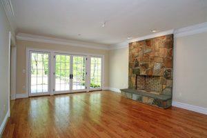 Scarsdale NY family room in custom home